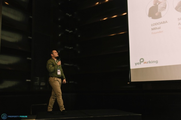 Start-up pitches: Mihai Lodoaba (YeParking)