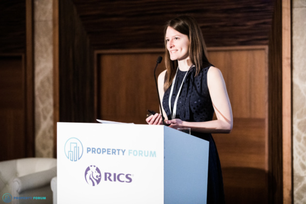 Barbora Dermeková MRICS (JLL) discussed the future of valuation in a digitized world