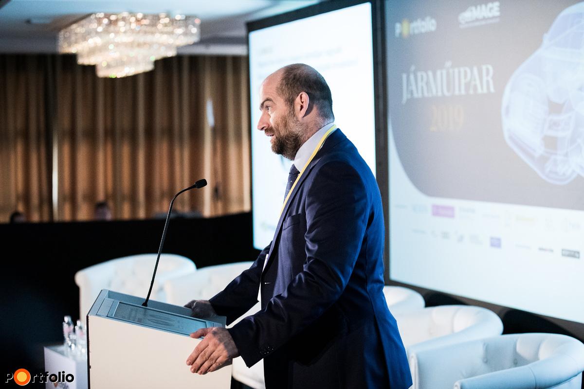 Megnyitó: Bán Zoltán, vezérigazgató, NET Média Zrt. (portfolio.hu)