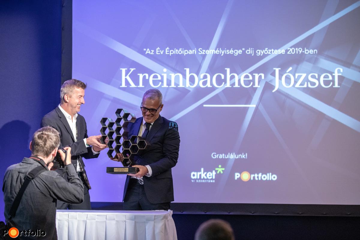 Az Év Építőipari Személyisége díj nyertese 2019-ben: Kreinbacher József