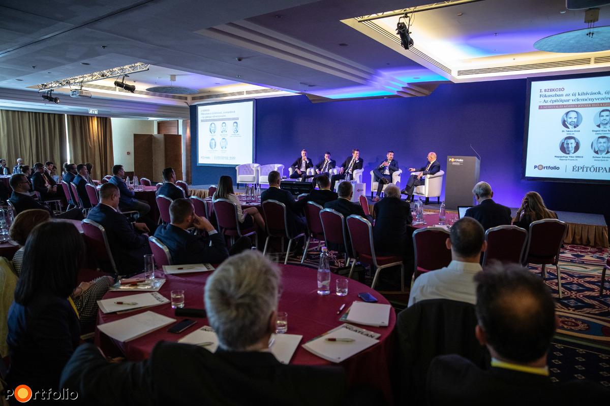 Az Építőipar konferencia első alkalommal került megrendezésre a Marriott Hotelben, Budapesten