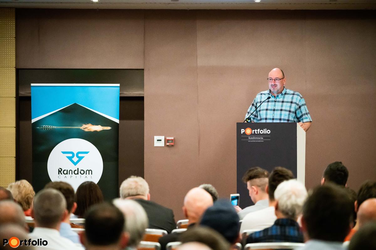Virág Ferenc (tulajdonos-tanácsadó, Random Capital) előadása