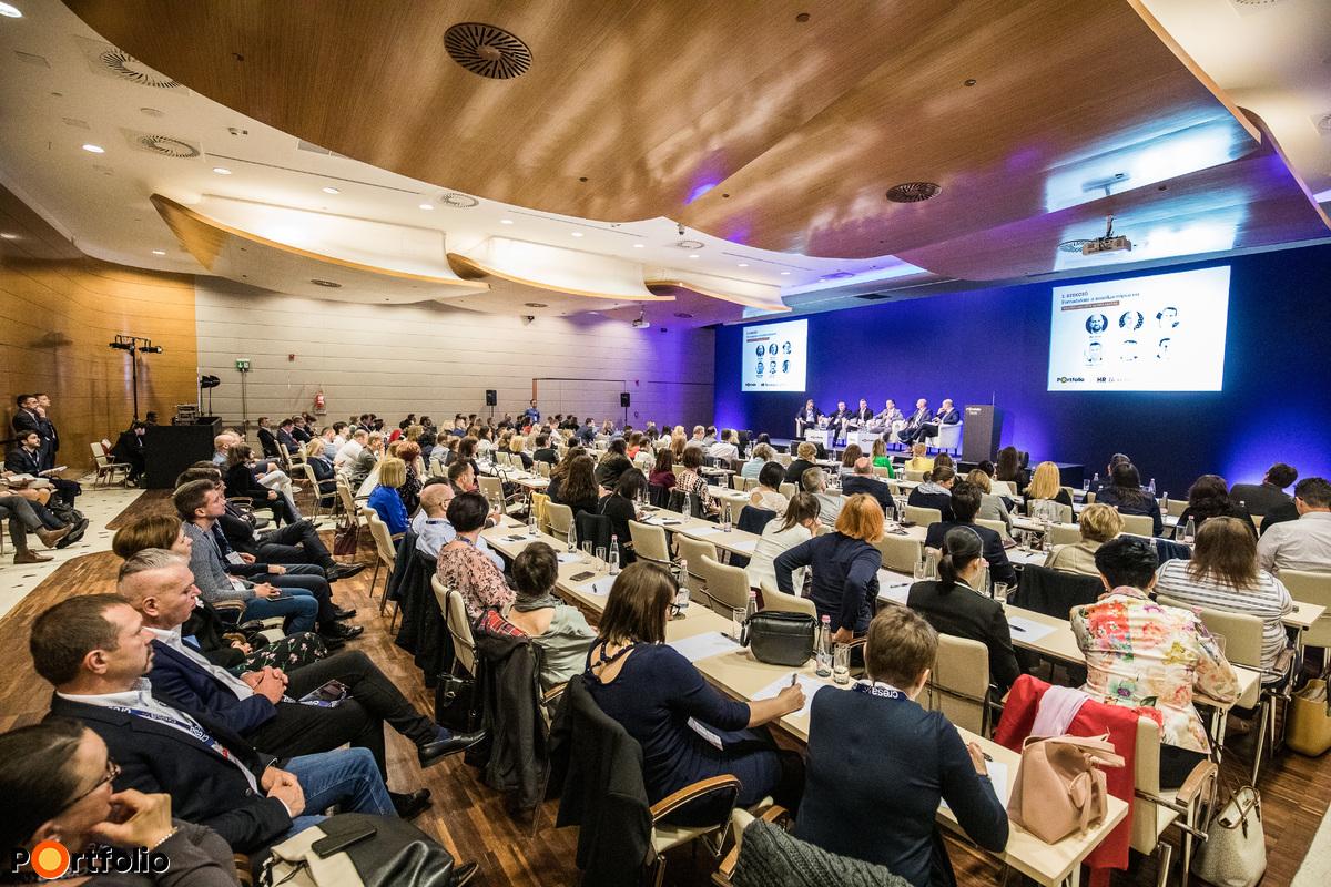 Az első Portfolio HR Revolution konferencia a New York Palace Hotelben került megrendezésre május 23-án