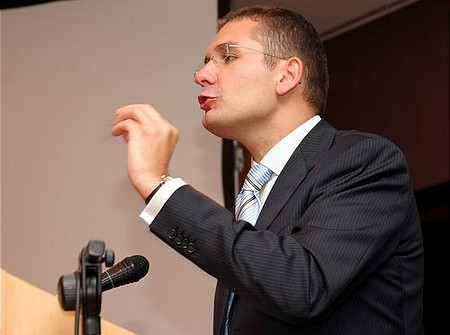 Economic Minister János Kóka