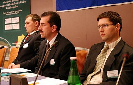 Miklós Kerezsi, (ABO Holding), László Gyerkó, Attila Fazakas