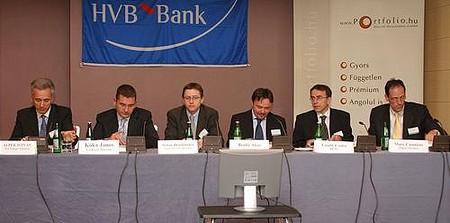Portfolio.hu Conference - Growth opportunities for SMEs in CEE: István Alpek, János Kóka, Stefan Bruckbauer, Ákos Benke, Csaba László, Marc Cannizzo