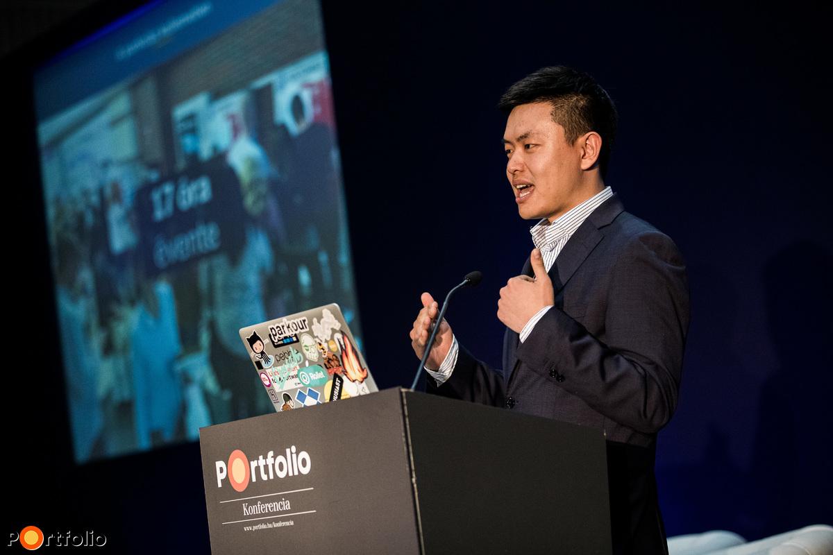 Andy Zhang (ügyvezető Igazgató, alapító, Rollet): Érintésmentes, áthajtásos fizetés bármilyen autóval