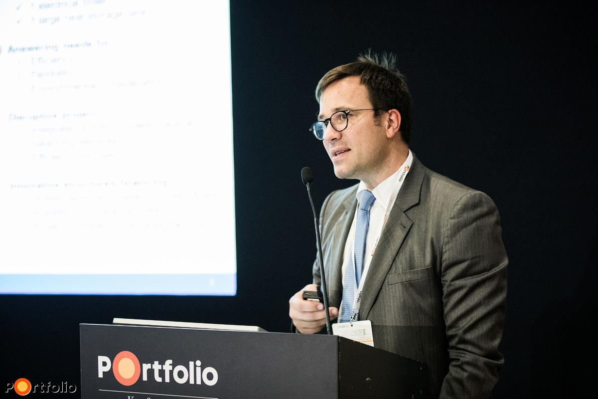 Vincent Metzler (Project Finance, Lending Operations, Baltic Sea, Northern, Central and South Eastern Europe, European Investment Bank): Az energiahatékonysági beruházások finanszírozásának új lehetőségei