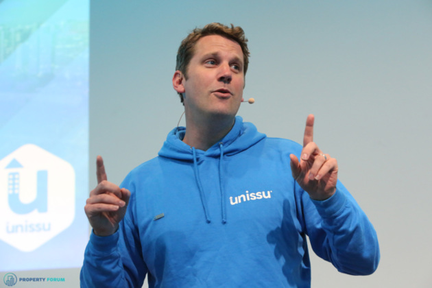 James Dearsley (Unissu) discussed how technology is completely transforming the property business