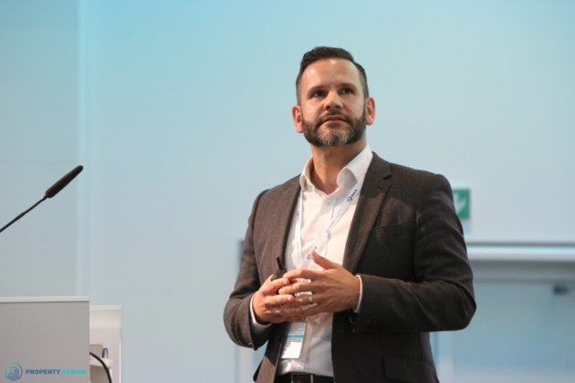 Kevin Turpin (JLL) spoke about flex space in Prague