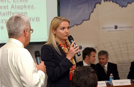 Barbara Wösner, BSE Board member representing the Vienna Stock Exchange