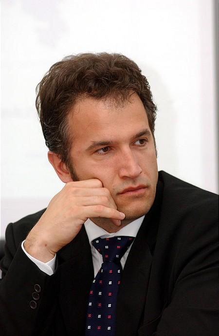 Cselovszi Róbert, a BÉT alelnöke, az Erste Bef. Rt. vezérigazgatója