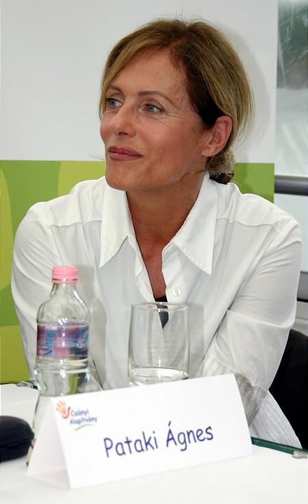 Pataki Ágnes, a kuratórium tagja.
