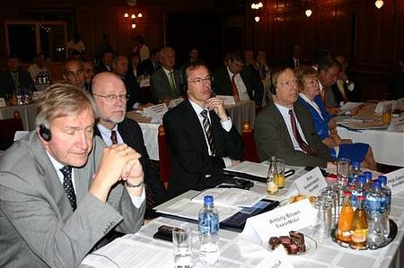 Az ExxonMobil küldöttsége