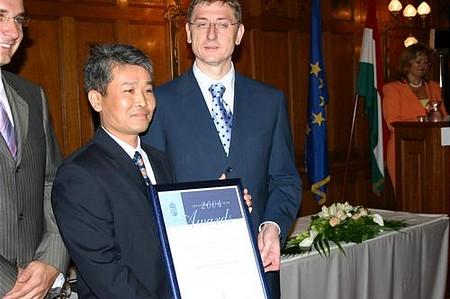 Az év legtöbb új munkahelyet teremtő vállalata - Faxconn, Komárom, 2000 fő - Janson Wang, ügyvezető igazgató