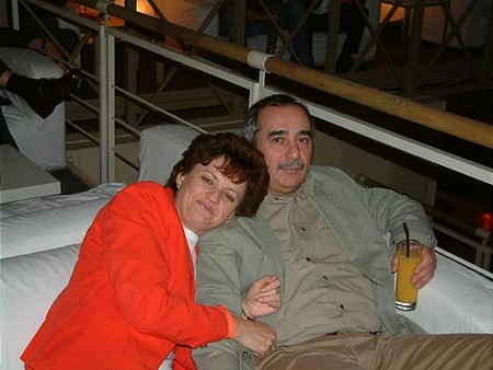 Schalkhammer Erika, a BÉT volt megbízott ügyvezető igazgatója férjével