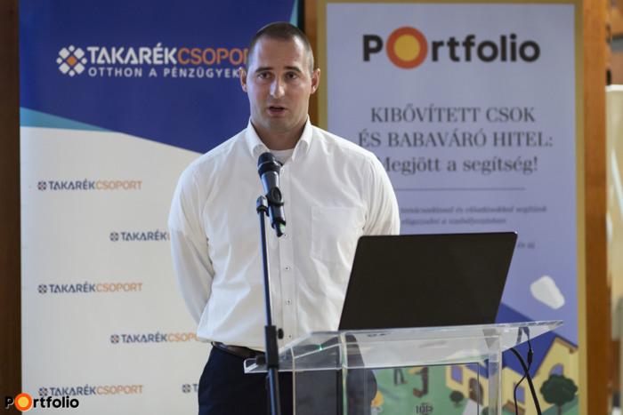 Bundics Márton (Babaváró Hitel szakértő, Takarék Csoport): Tudnivalók a babaváró hitelről