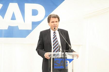 Prof. Dr. Claus Heinrich, az SAP AG igazgatósági tagja