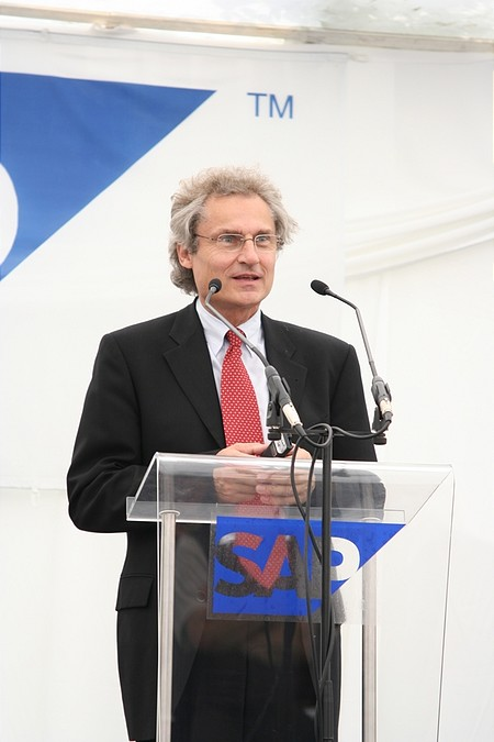 Prof. Dr. Henning Kagermann, az SAP AG vezérigazgatója