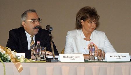 Bokros Lajos és Hardy Ilona...