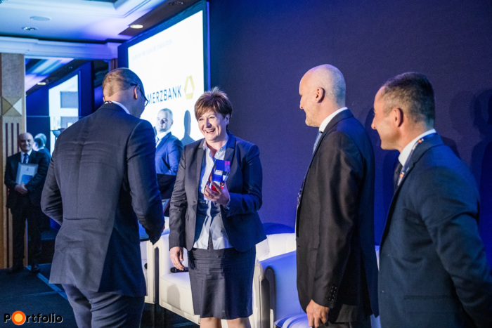 A CFO of the year 2019 díj nyertese: Tóth István (CFO, Tungsram)