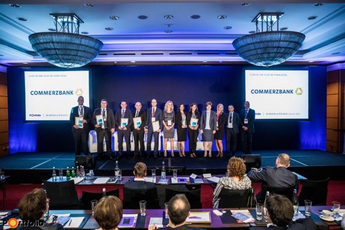 CFO Master 2019 díjazottak, a CFO of the year 2019 nyertese és az Év Credit Management csapata