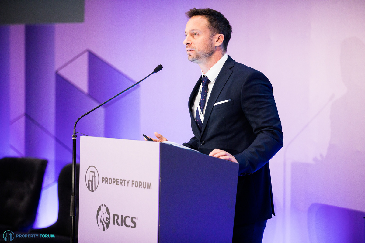 Gábor Borbély MRICS (CBRE) analyzed the CEE property landscape