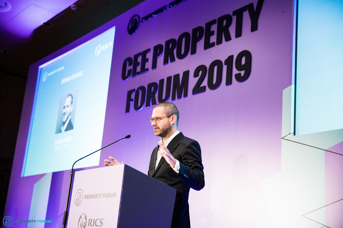 Welcome remarks by Csanád Csűrös (Property Forum)