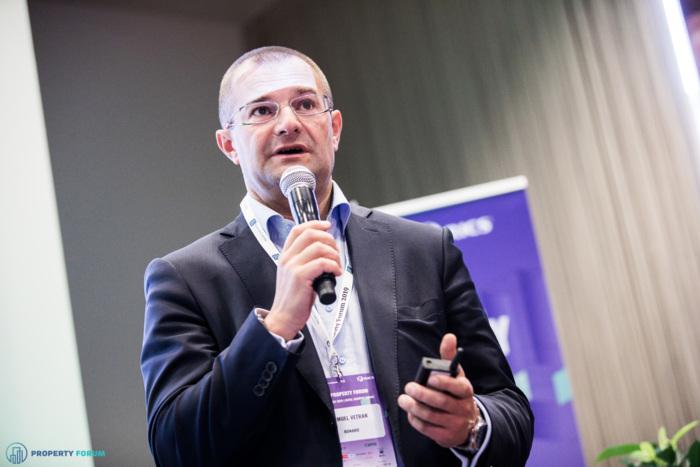 Samuel Vetrak (Bonard) spoke about student housing investment opportunities in CEE