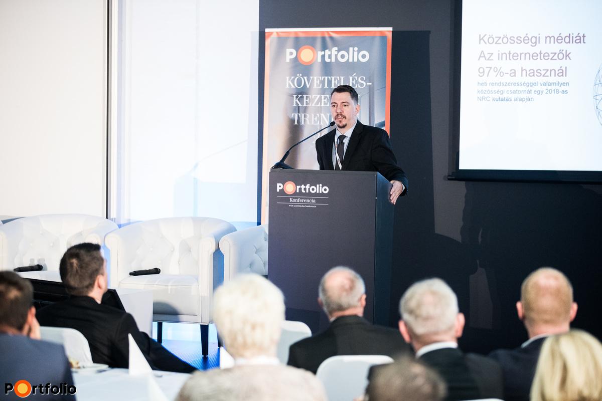 Pap Zoltán Kálmán (fejlesztési vezető - Informatikai és innovációs osztály, Fejlesztési csoport, EOS Magyarország): Digitalizáció a követeléskezelésben