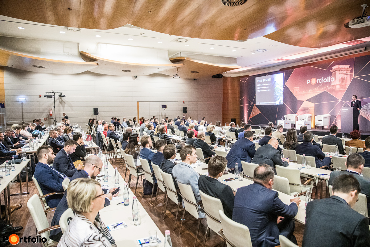 Over 200 participants attended the Portfolio Budapest Economic Forum 2019 Conference