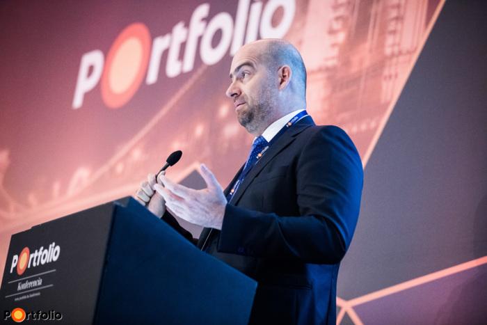 Bán Zoltán a Portfolio vezérigazgatója nyitotta meg a konferenciát és köszöntötte a vendégeket
