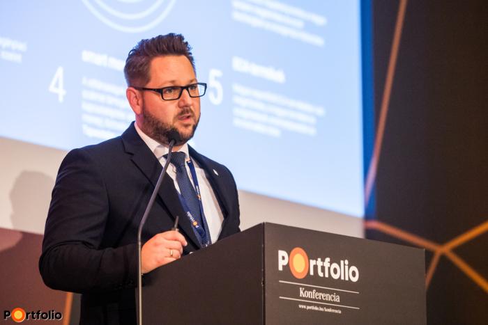 Jákli Gergely (elnök-vezérigazgató, EXIM):  Exportösztönzés magántőke befektetésekkel