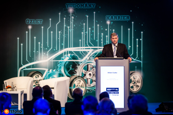 Csaba Kilián (CEO, Association of the Hungarian Automotive Industry (MAGE)) welcomed the guests