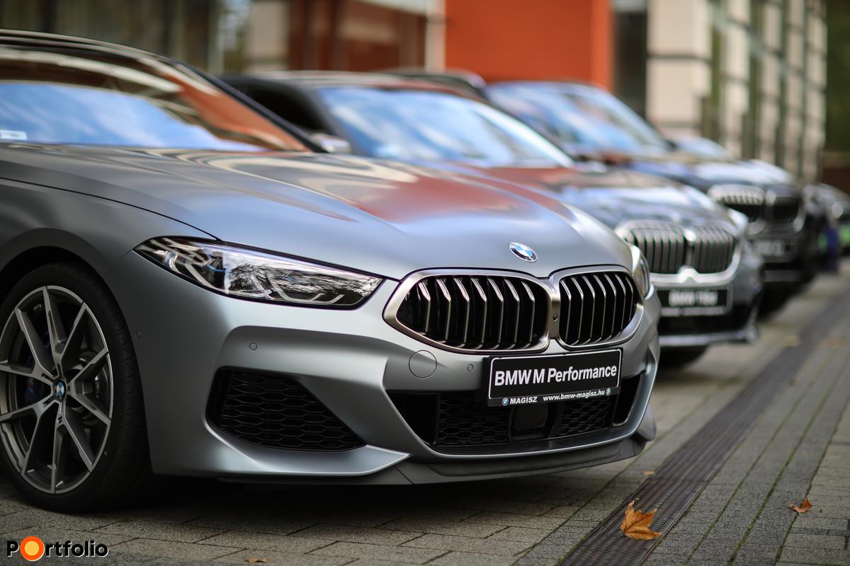 BMW Magisz Debrecen tesztvezetéssel a konferencián.