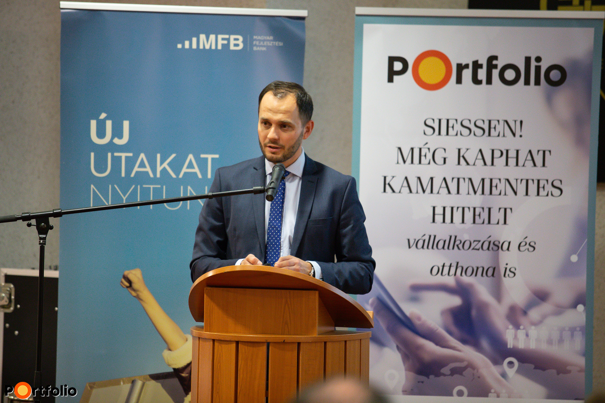 A még elérhető kedvezményes uniós finanszírozási lehetőségek - Az MFB szakértőinek előadása - Szabó Sándor, Értékesítési és Ügyfélkapcsolati Igazgatóság vezetője, MFB