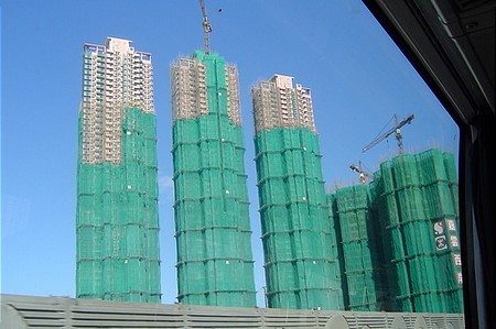 Építkezési láz Hong Kong-ban is