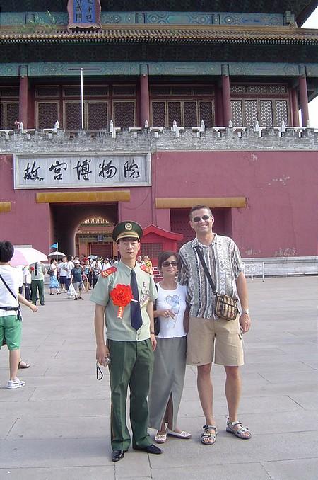 Az európai arcok még Pekingben is érdekesek