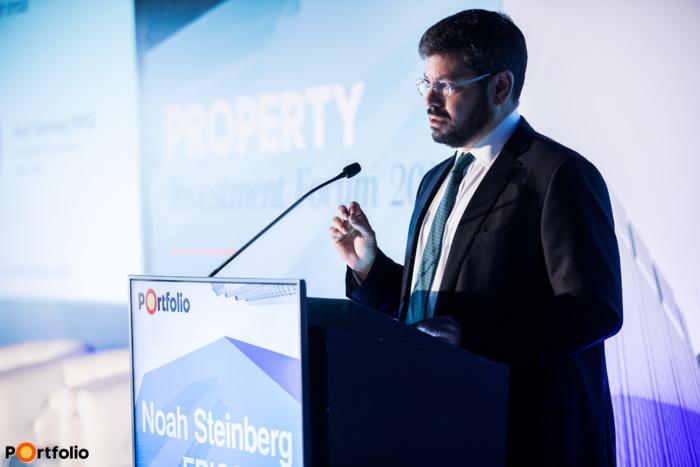 Noah Steinberg FRICS (elnök-vezérigazgató, elnök, WING, RICS magyarországi elnöke): Megnyitó