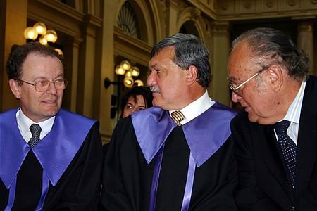 Gegyesi, Csányi, Demján, a Corvinus Egyetem díszpolgárai