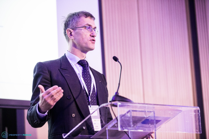 Peter Tabak (EBRD) gave an economic outlook for SEE