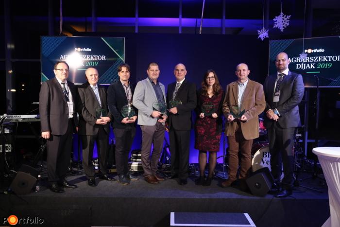 Agrárszektor díjak 2019 - nyertesek