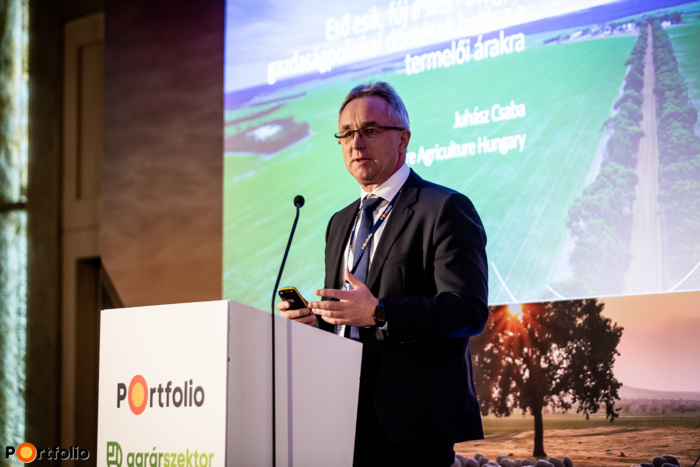 Juhász Csaba (ügyvezető igazgató, Glencore Agriculture Hungary Kft.:) Eső esik, fúj a szél - avagy a gazdaságpolitikai döntések hatása a termelői árakra