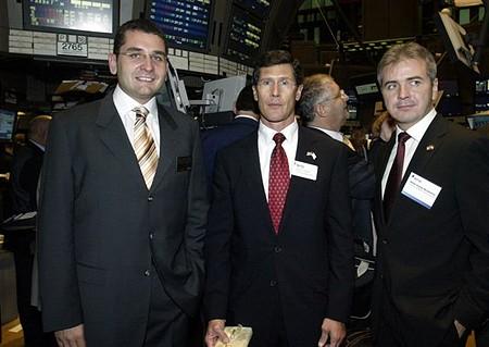John A. Thain, a NYSE vezérigazgatója: két magyar között