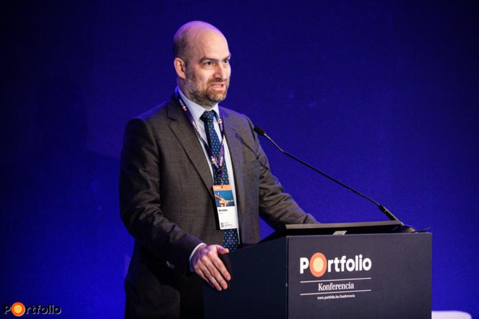Zoltán Bán, CEO, Net Média Zrt. (Portfolio)  welcomed the guests