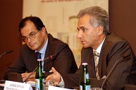 Simor András, Deloitte - Alpek István, 3TS Venture Partners (Portfolio.hu Pénzügyi Konferencia)