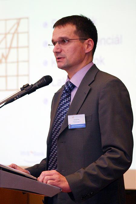 Kocsis Péter, a HVB Bank ügyvezető igazgatója a banki finanszírozásról
