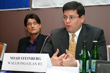 Noah Steinberg, a Wallis Ingatlan vezérigazgatója