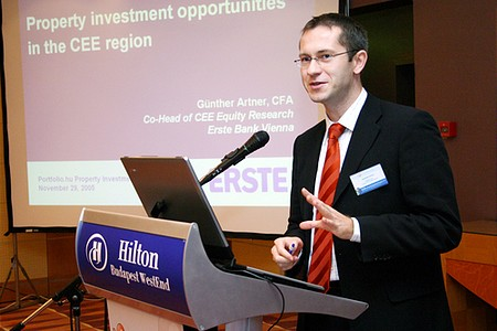 Günther Artner, Co-Head of CEE Equity Research, ERSTE Bank, Bécs