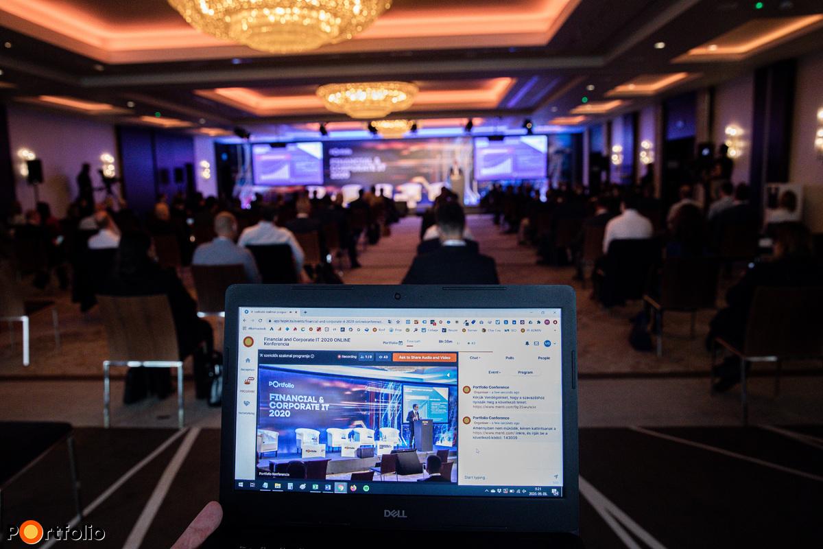 Online résztevőink élőben követhették végig a konferenciát